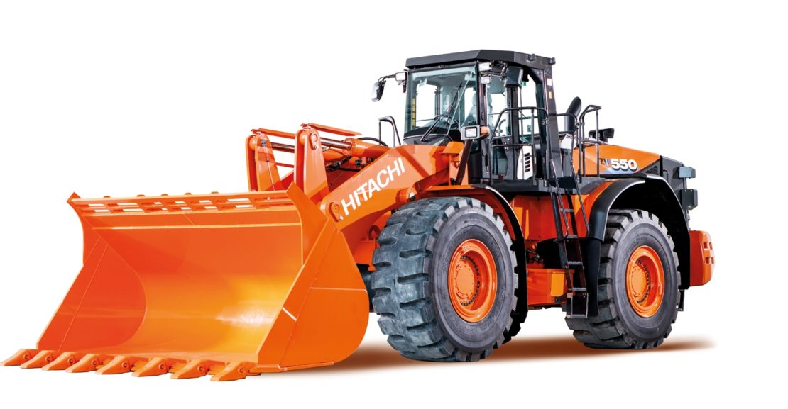 hitachi 550 Wheelloader