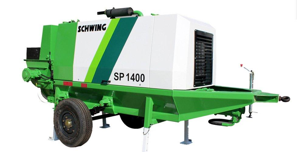 Schwing Stetter Stationary-Pump-Concrete Pump