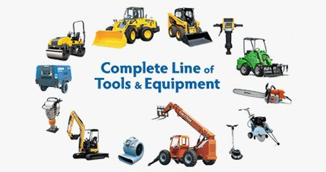 Construction Equipment rental charges